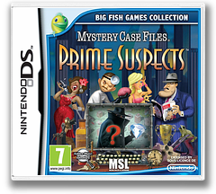 Mystery Case Files - Prime Suspects DS cover (TPRP)