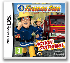 Fireman Sam - Action Stations DS cover (TQSP)