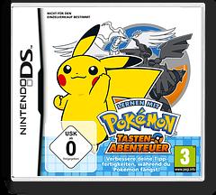 Lernen mit Pokémon - Tasten-Abenteuer DS cover (UZPD)