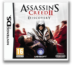 Assassin's Creed II - Discovery DS cover (VACV)