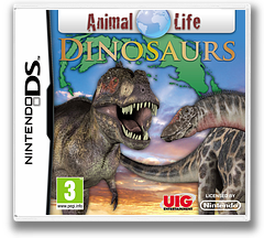 Animal Life - Dinosaurs DS cover (VADP)
