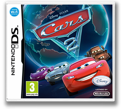Cars 2 DS cover (VCAY)