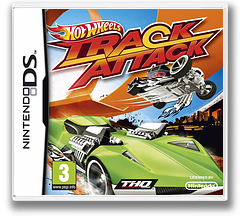 Hot Wheels - Track Attack DS cover (VHWV)