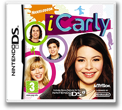 iCarly DS cover (VICP)
