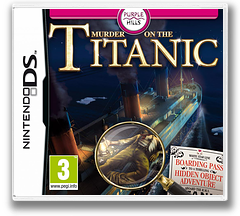 Murder on the Titanic DS cover (VTTP)