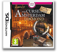 Youda Legend - The Curse of the Amsterdam Diamond DS cover (VYGZ)