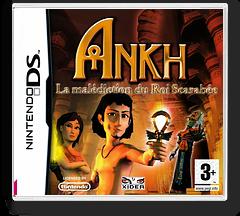 Ankh - La Malediction du Roi Scarabee DS cover (YAKF)