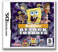Nicktoons - Attack of the Toybots DS cover (YAYP)