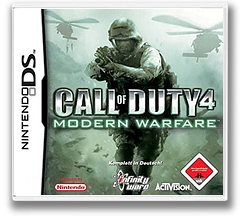 Call of Duty 4 - Modern Warfare DS cover (YCOD)