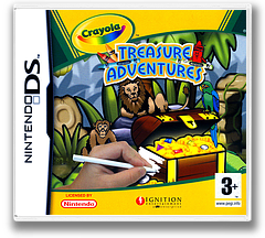 Crayola Treasure Adventures DS cover (YCYP)