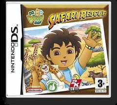 Go, Diego, Go! - Safari Rescue DS cover (YEQY)