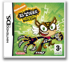 El Tigre - The Adventures of Manny Rivera DS cover (YETP)