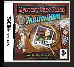 Mystery Case Files - MillionHeir DS cover (YFCP)