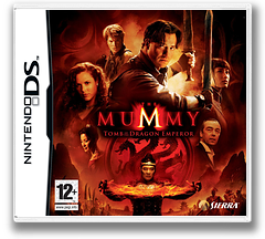 The Mummy - Tomb of the Dragon Emperor DS cover (YHDP)