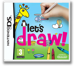 Let's Draw! DS cover (YJZP)