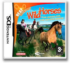Real Adventures - Wild Horses - The Quest for the Golden Horse DS cover (YMQX)