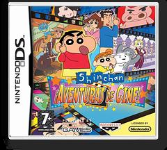 Shin chan - Aventuras de Cine! DS cover (YRCS)
