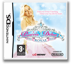 Princess Debut - The Royal Ball DS cover (YROP)