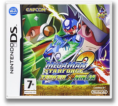 Mega Man Star Force 2 - Zerker x Ninja DS cover (YRVP)