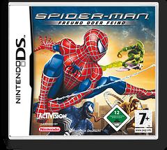 Spider-Man - Freund oder Feind DS cover (YSFD)