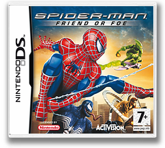 Spider-Man - Friend or Foe DS cover (YSFP)