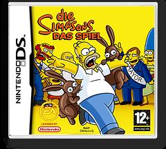 Die Simpsons - Das Spiel DS cover (YSZD)