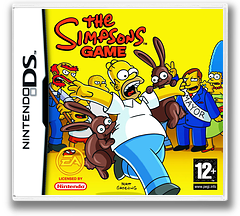 The Simpsons Game DS cover (YSZP)