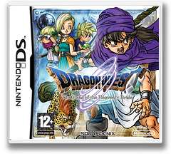 Dragon Quest - The Hand of the Heavenly Bride DS cover (YV5P)