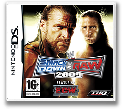 WWE SmackDown vs Raw 2009 featuring ECW DS cover (YW9X)