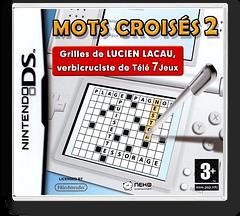 Mots Croisés 2 DS cover (YY2F)