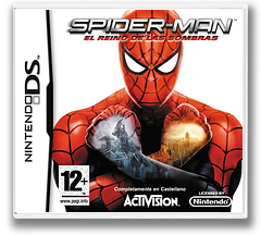 Spider-Man - Web of Shadows DS cover (CS5X)