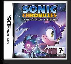 Sonic Chronicles - The Dark Brotherhood DS cover (CSNP)