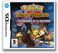Pokémon Mystery Dungeon - Explorers of Darkness DS cover (YFYP)