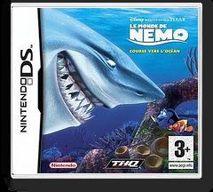 Le Monde de Nemo - Course vers l' océan pochette DS (AFNX)