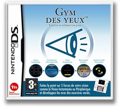Sight Training - Enjoy Exercising and Relaxing Your Eyes pochette DS (AG3P)