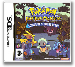 Pokémon Mystery Dungeon - Blue Rescue Team pochette DS (APHP)