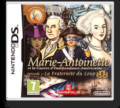Marie-Antoinette et la Guerre d'Indépendance américaine - Episode 1 - la Fraternité du Loup pochette DS (BA5P)