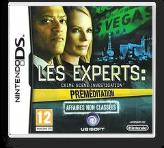 Les Experts - Crime Scene Investigation - Préméditation - Affaires Non Classées pochette DS (BCIP)