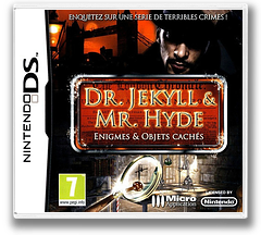 The Mysterious Case of Dr. Jekyll & Mr. Hyde pochette DS (BJHY)