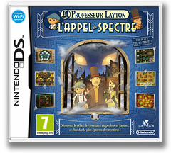 Professor Layton and the Spectre's Call pochette DS (BLFP)