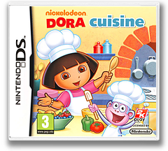 Dora's Cooking Club pochette DS (BNUX)