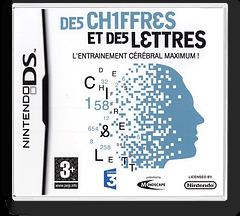 Chiffres et des Lettres, Des - L'Entrainement Cerebral Maximum! pochette DS (CDMF)