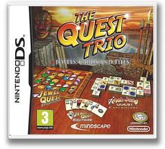 The Quest Trio - Jewels, Cards and Tiles pochette DS (CQEX)