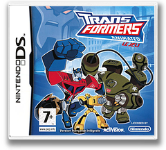 Transformers Animated - The Game pochette DS (CTFP)