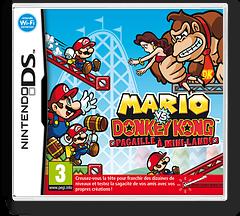 Mario vs. Donkey Kong - Mini-Land Mayhem! pochette DS (V2GV)