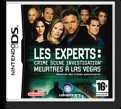 Les Experts - Crime Scene Investigation - Meurtres à Las Vegas pochette DS (YDMP)