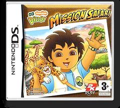 Go, Diego, Go! - Safari Rescue pochette DS (YEQY)