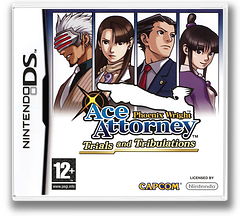 Phoenix Wright - Ace Attorney - Trials and Tribulations pochette DS (YG3X)