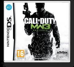 Call of Duty - Modern Warfare 3 - Defiance DS cover (B5BX)