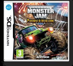 Monster Jam - Path of Destruction DS cover (BUJP)